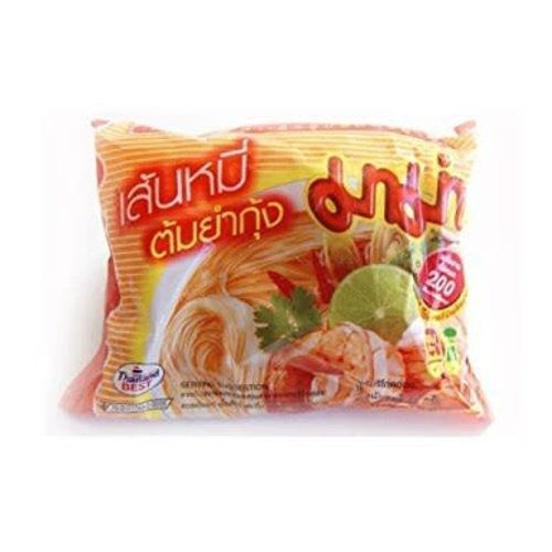 Mama Best Before 06/18 Rice Vermicelli - Tom Yum Koong  55g