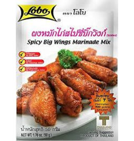 Lobo Spicy Big Wing Marinade Mix 50g