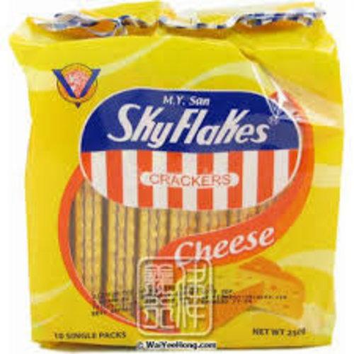 M.Y San Skyflakes Cracker- Cheese 10x25g