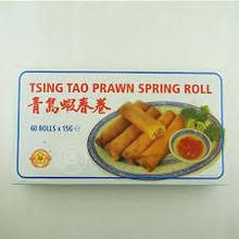 Gold Plum Tsing Tao Prawn Spring Roll 60 pieces x 15g