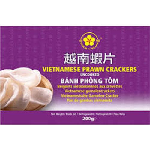 Gold Plum Uncooked Vietnamese Prawn Crackers (200g)