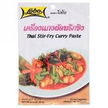 Lobo Thai Stir Fry Curry Paste 60g