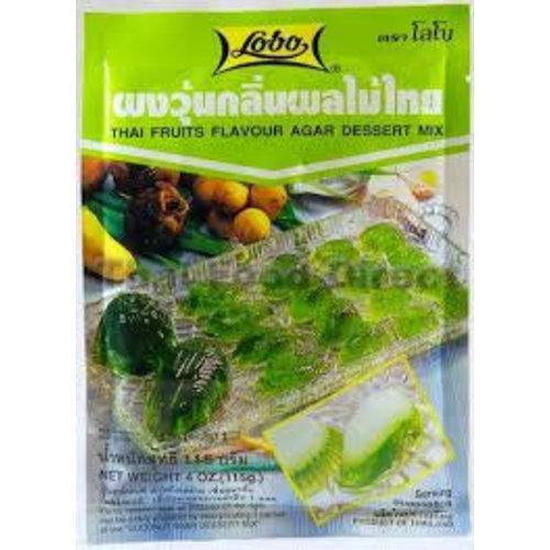 Lobo Thai Fruits Flavour Agar Dessert Mix 115g