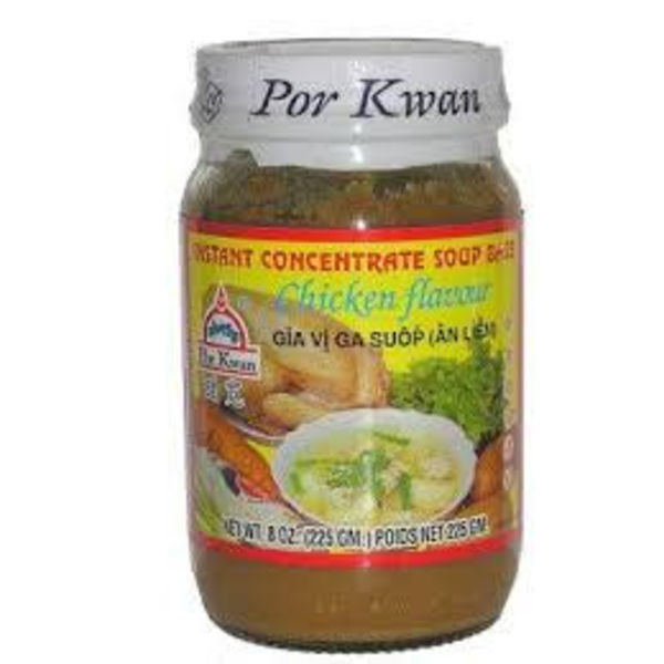Por Kwan Soup Concentrate - Chicken 225g BBD 09/18