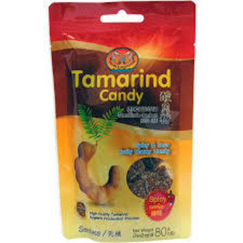 Double Seahorse Tamarind Candy - Spicy  80g