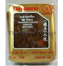 Double Seahorse Tamarind Pulp with Seeds 400g