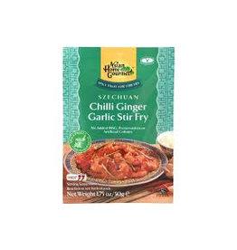 Asian Home Gourmet Szechuan Chilli Ginger Garlic Stir Fry 50g