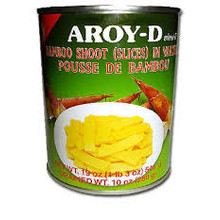 Aroy D Bamboo Shoots - Sliced 540g