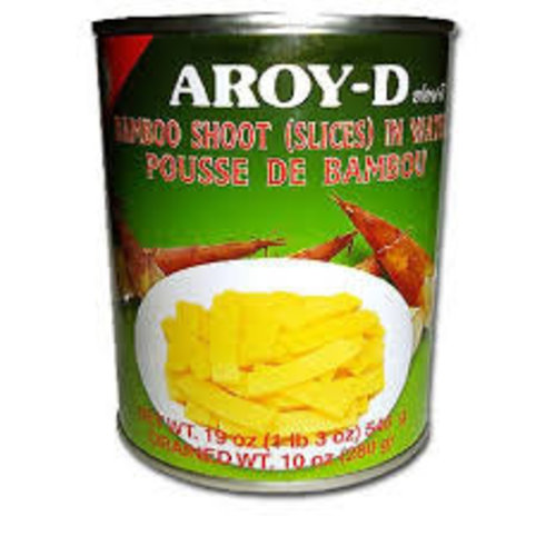 Aroy D Bamboo Shoots Sliced 540g