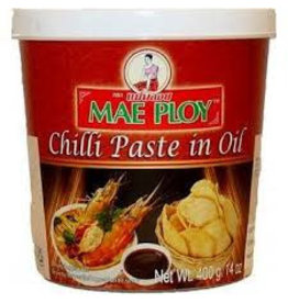 Mae Ploy Chilli Paste in Oil 400g