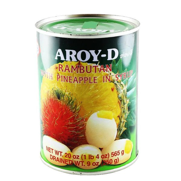 Aroy D Rambutan with Pineapple in Syrup 565g