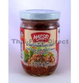 Maesri Chillli Paste with Basil (Pad Kapao) 200g