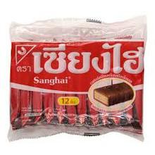 Shanghi Chocolate Cream wafer 15x6g