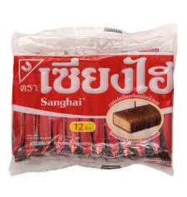 Sanghai Chocolate Cream wafer 15x6g