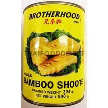 Brotherhood Bamboo Shoots -Halves 540g