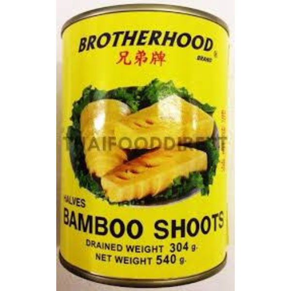 Brotherhood Bamboo Shoot- Halves 540g