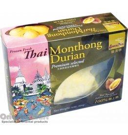 Buono Lamai Thai Frozen Monthong Durian Fruit 454g