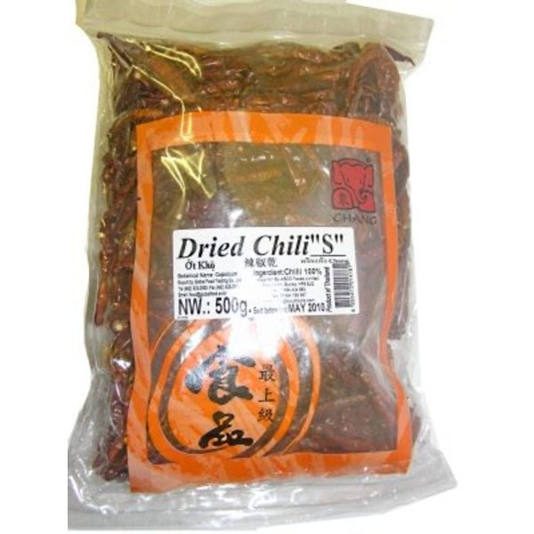Chang Dried Chilli Small 500g