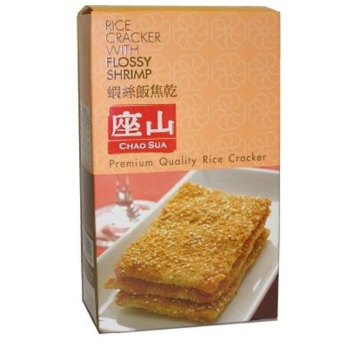 Chao Sua BBD 11/18 Rice Cracker- Flossy Shrimp 100g