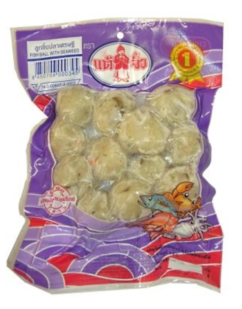 Chiu Chow Fish Ball with seaweed 200g