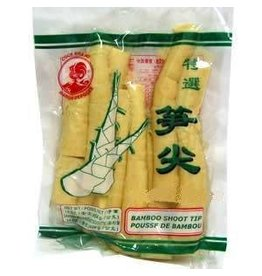 Cock Brand Bamboo Shoots - Tips 454g (vacuum)