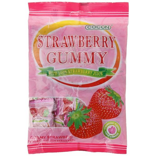 Cocon Gummy-Strawberry 100g