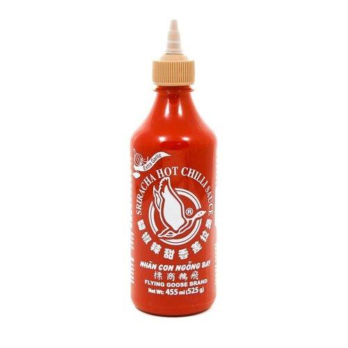 Flying Goose Sriracha  W/Garlic 455ml