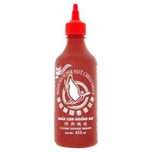 Flying Goose Sriracha  Chilli Sauce -Super Hot 455ml