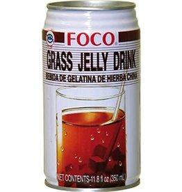FOCO Grass Jelly Drink 350ml
