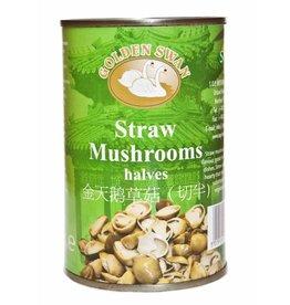 Golden Swan Straw Mushrooms -halves 425g