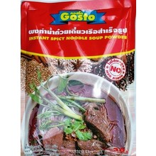 Gosto Instant Noodle Soup Powder- Spicy 208g