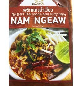 Grab Thai Northern Style Noodle Sour Curry Paste 50g