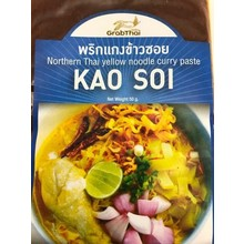 Grab Thai Northern Thai Yellow Noodle  Curry Paste 50g
