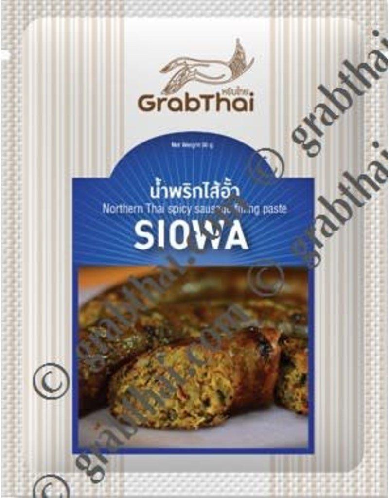 Grab Thai Northern Thai Spicy Sausage Filling Paste 50g