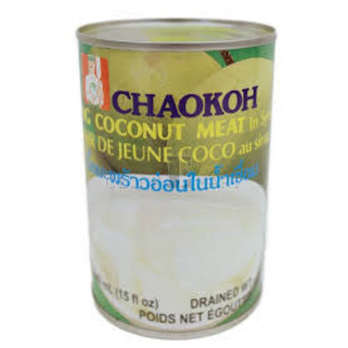 Chaokoh Young Coconut Meat in Syrup 425g