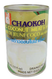 Chaokoh Young Coconut Meat in Syrup 440g