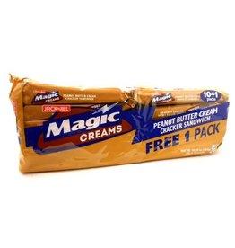 Jack & Jill Magic Creams Peanut Butter 10 x 28g