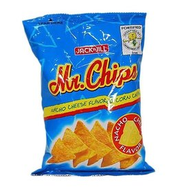 Jack & Jill Mr Chips Nacho Cheese Flavoured Corn Chips 100g