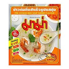 Mama Pre-Cooked Rice Soup - Shrimp Flavour 50g
