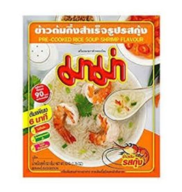 Mama Pre-Cooked Rice Soup Shrimp Flavour 50g