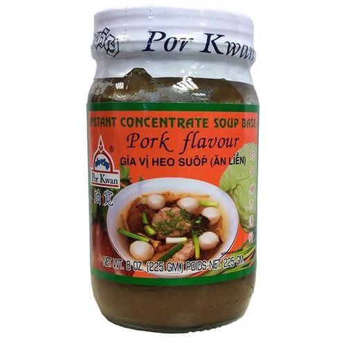 Por Kwan Instant Soup Base Concentrate Pork  225g