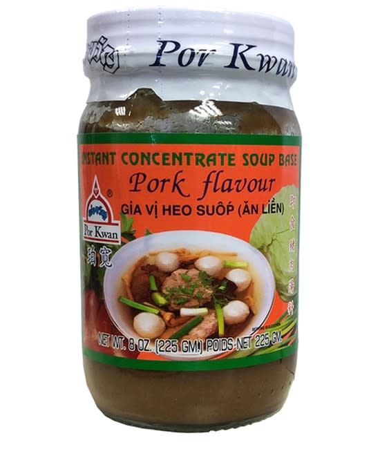 Por Kwan Instant Pork Flavour Paste 225g