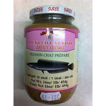 Suree Pickled Cat Fish 454g