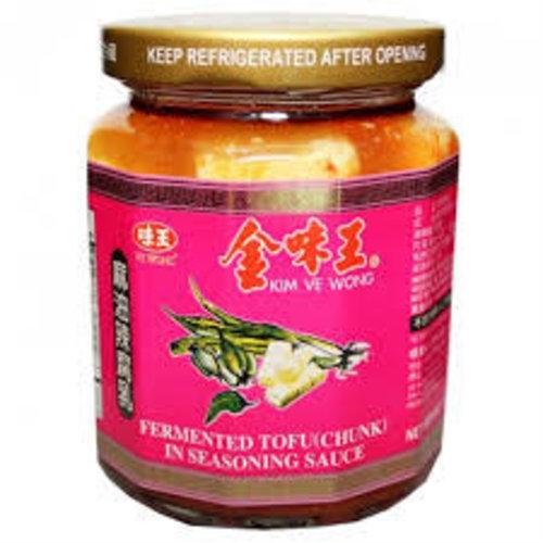 Kim Ve Wong Seasoned Fermented Tofu