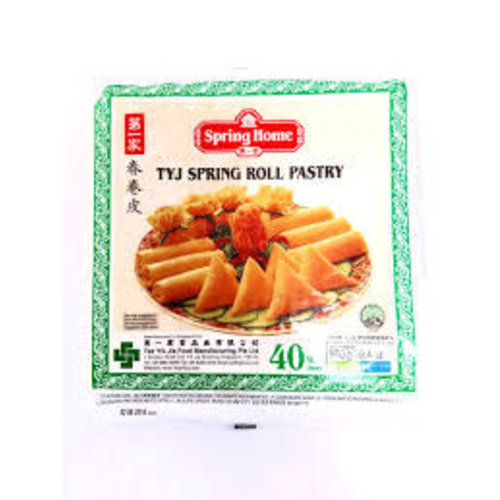 "Spring Home TYJ Spring Roll Pastry 7.5"" (50 Sheets) 550g"