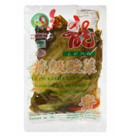 X.O Sour Green Mustard with Chilli 350g