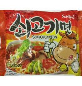 Samyang Sogokimyun -Hot Beef Noodle Soup 120g