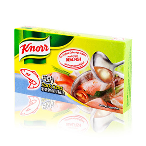 Knorr Fish Broth Cubes 60g