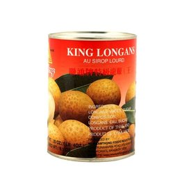 Lamthong King Longans in Heavy Syrup 565g