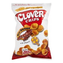 Leslies Clover Chips - Barbecue 50g